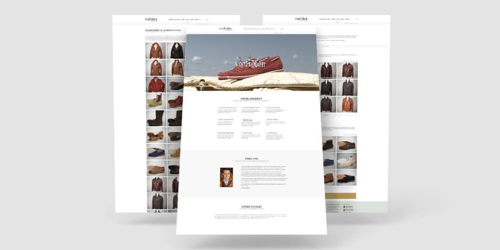 Produkte des Outlets können online präsentiert und vom Kunden eigenständig gepflegt werden